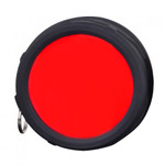 Klarus FT11 Quick attach Flashlight Filter (RED)