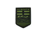 PVC Morale Patch -Provincial Shield - ALBERTA OD