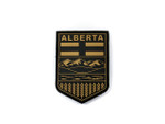 Morale Patch - PVC Provincial Shield - ALBERTA TAN