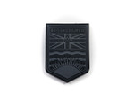 PVC Morale Patch -Provincial Shield - BRITISH COLUMBIA BLACK & GREY