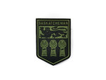 PVC Morale Patch -Provincial Shield - SASKATCHEWAN OD