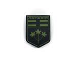 PVC Morale Patch -Provincial Shield - ONTARIO OD