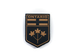 PVC Morale Patch -Provincial Shield - ONTARIO TAN