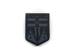 Morale Patch - PVC Provincial Shield - YUKON GRY