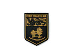 PVC Morale Patch -Provincial Shield - PRINCE EDWARD ISLAND TAN
