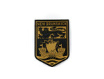 PVC Morale Patch -Provincial Shield - NEW BRUNSWICK TAN