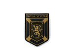 PVC Morale Patch -Provincial Shield - NOVA SCOTIA TAN