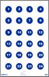 "Skill Training Target 3"" Circles (100 pack)"