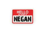 PVC Morale Patch - MY NAME IS NEGAN