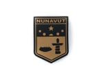 PVC Morale Patch -Provincial Shield - NUNAVUT TAN