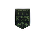 PVC Morale Patch -Provincial Shield - QUEBEC ODG