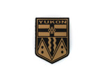 PVC Morale Patch -Provincial Shield - YUKON TAN