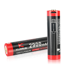 Klarus 18650 Rechargeable Battery (2900mAh) LOW TEMP Rated with Micro USB Port
