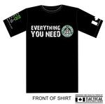 T-Shirt - Everything you need - Guns Ammo Coffee