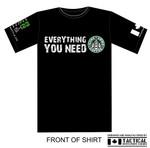 T-Shirt - Everything you need - Guns Ammo Coffee