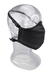 Premium GEN 2 Face Mask  - Reusable 2-Ply Fabric - Solid Midnight Black