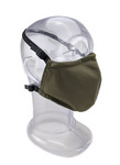 Premium GEN 2 Face Mask  - Reusable 2-Ply Fabric - Solid Olive Green