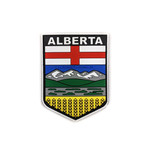 PVC Morale Patch -Provincial Shield - ALBERTA - FULL COLOUR