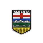 PVC Morale Patch -Provincial Shield - ALBERTA - FULL COLOUR