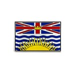 "PVC Morale Patch - Provincial Flag - 2""x3"" - BRITISH COLUMBIA - FULL COLOUR"