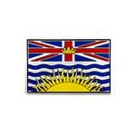"PVC Morale Patch - Provincial Flag - 2""x3"" - BRITISH COLUMBIA - FULL COLOUR"