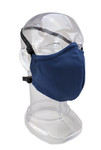 Premium GEN 2 Face Mask - 2ply Fabric Face Mask - Solid Postman Blue