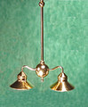 Brass Billiard Light by Clare-Bell Brass Works
