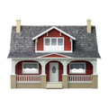 Classic Bungalow Dollhouse Kit by Real Good Toys