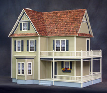 Victoria's Farmhouse Dollhouse Kit by Real Good Toys