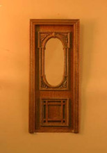 Penniman Exterior Single Door, Walnut by Bespaq