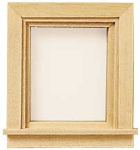 Traditional Single Light Window by Houseworks