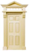 Victorian Hooded Exterior Door by Houseworks