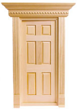 Yorktown Exterior 6-Panel Door by Houseworks