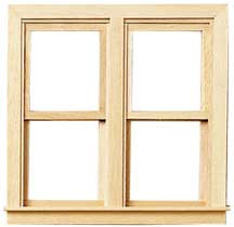 Traditional Side-by-Side Double Hung Working Window by Houseworks