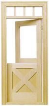 Crossbuck Dutch Exterior Door by Houseworks
