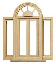 Circlehead Double Casement Window by Houseworks
