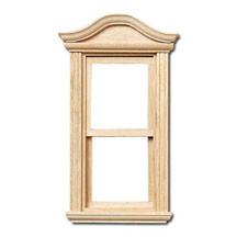Bonnet Pediment Non-Working Window by Houseworks