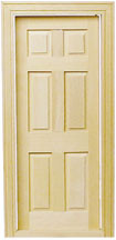 6-Panel Traditional Interior Door by Houseworks