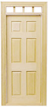 6-Panel Traditional Exterior Door by Houseworks
