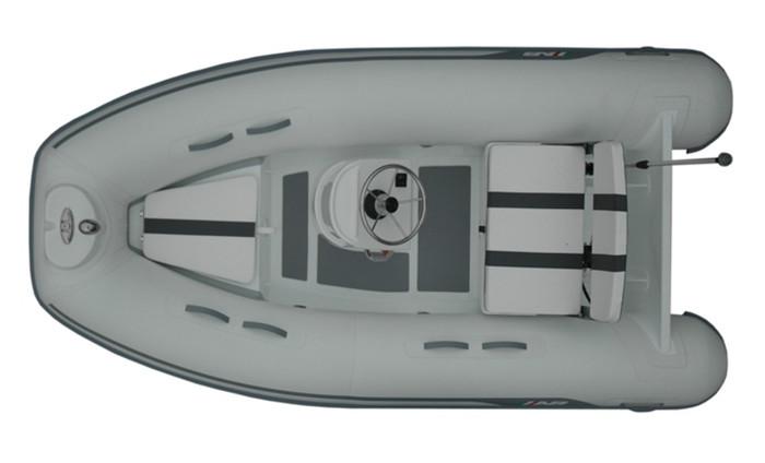 AB ALUMINA 10 ALX 2017 with Outboard Engine