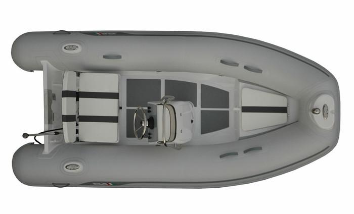 AB ALUMINA 12 ALX 2017 with Outboard Engine