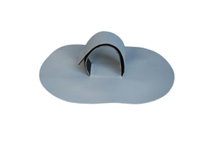 Coated Fabric Paddle Holder (Light Grey)