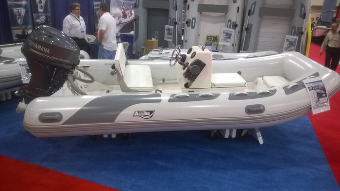 Please Note: Boat as pictured features extra options including stainless console rail and stainless steering wheel.