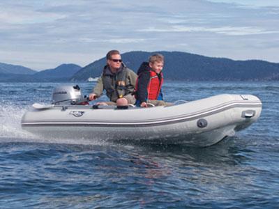 Achilles Aluminum Rigid Inflatable Boat