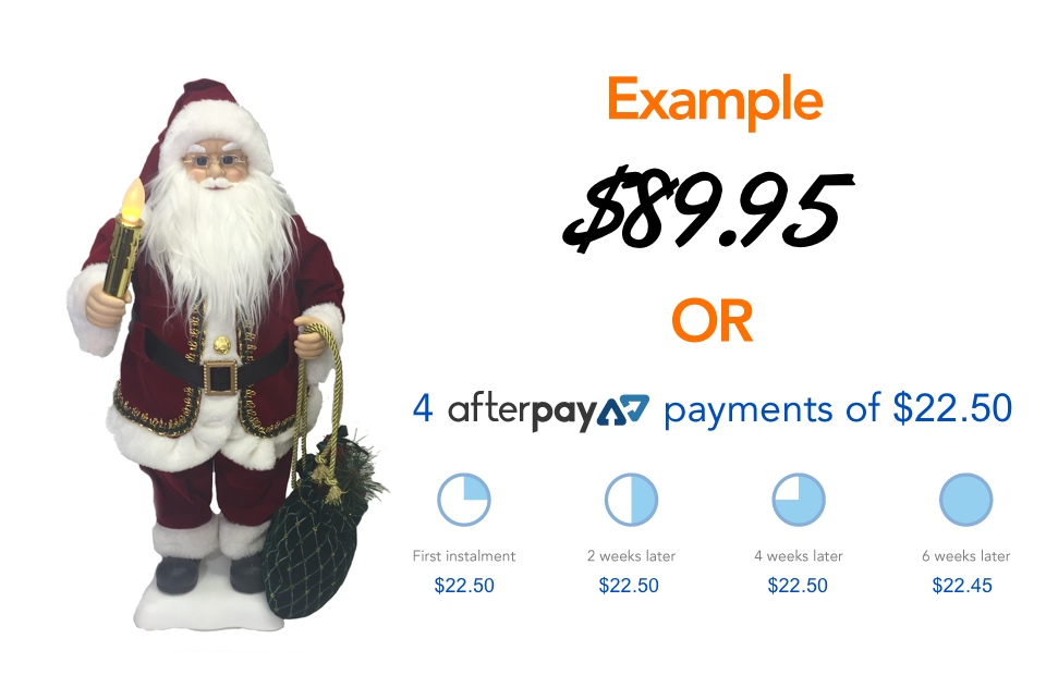 afterpay christmas example