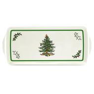 Spode melamine Christmas Tree tray