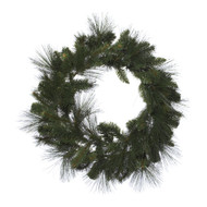 Wild Pine Green Christmas Wreath