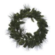 Wild Pine Green Christmas Wreath