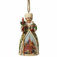 Jim Shore Santas of the World Russian Santa Ornament