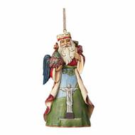 Jim Shore Hanging Brazilian Santa Claus Ornament